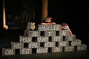 """Anatheme"".Jacque delcuvellerie/groupov.festival in d'avignon ."