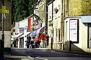 Shopping street in Raunds Town Centre