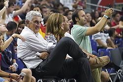 September 17, 2018 - Madrid, Spain - Fernando Romay  attend the 2019 FIBA Basketball World Cup qualification match between Spain and Latvia at WiZink Center in Madrid, Spain, 17 September 2018  (Credit Image: © Oscar Gonzalez/NurPhoto/ZUMA Press)