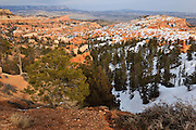 USA, Utah, Bryce Canyon National Park, Bryce Canyon from Sunrise Point