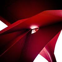 """FAlexander Calder's """"Flamingo"""""""
