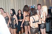 SPEARMINT RHINO GIRLS; STEVE BYRNE, 2013 Bar and Club awerds. Intercontinental. London. 4 June 2013