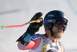 18.12.2016, Grand Risa, La Villa, ITA, FIS Ski Weltcup, Alta Badia, Riesenslalom, Herren, 2. Lauf, im Bild Tommy Ford (USA) // Tommy Ford of the USA reacts after his 2nd run of men's Giant Slalom of FIS ski alpine world cup at the Grand Risa race Course in La Villa, Italy on 2016/12/18. EXPA Pictures © 2016, PhotoCredit: EXPA/ Johann Groder