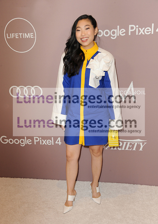 Awkwafina at the Variety's 2019 Power Of Women held at the Beverly Wilshire Four Seasons Hotel in Beverly Hills, USA on October 11, 2019.