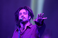 """Lead singer Adam Duritz performs with Counting Crows Tuesday night at the Morris Performing Arts Center in South Bend. The band offered new music from their """"Hard Candy"""" release, as well as all-acoustic set that included """"Mr. Jones"""" and """"Angels of the Silences."""""""