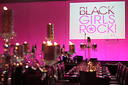 October 12, 2012-New York, NY: Atmosphere at the Black Girls Rock! Shot Callers Dinner presented by BET Networks and sponsored by Chevy held at Espace on October 12, 2012 in New York City. BLACK GIRLS ROCK! Inc. is 501(c)3 non-profit youth empowerment and mentoring organization founded by DJ Beverly Bond, established to promote the arts for young women of color, as well as to encourage dialogue and analysis of the ways women of color are portrayed in the media.(Terrence Jennings)