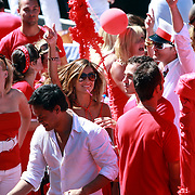 NLD/Amsterdam/20070804 - Gaypride Canalparade 2007, SBS showboot, Rebecca Loos
