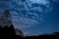 New Jersey Moonlit Night Sky.