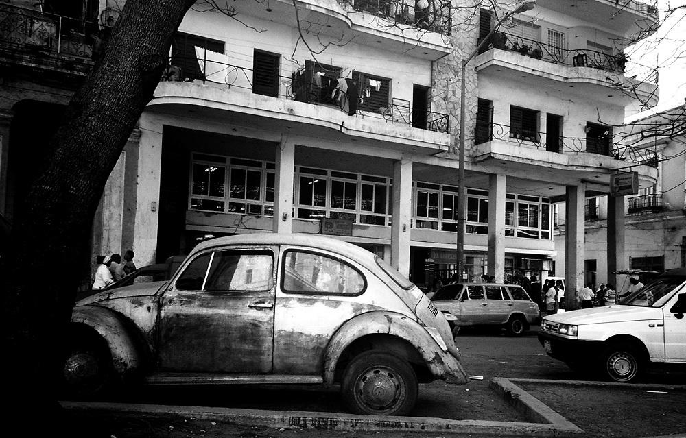 Volkswagen Beetle in Havana Cuba