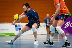 Just Dronkers #6 of Netherlands in action during the Olaf Ratterman Memorial match between Netherlands vs. Eredivisie All Star team on May 03, 2021 in Barneveld.