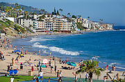 Downtown Main Beach in Laguna Beach California