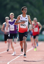 Daniel Rowden in the 800m during the Loughborough International Athletics Meeting at the Paula Radcliffe Stadium, Loughborough.