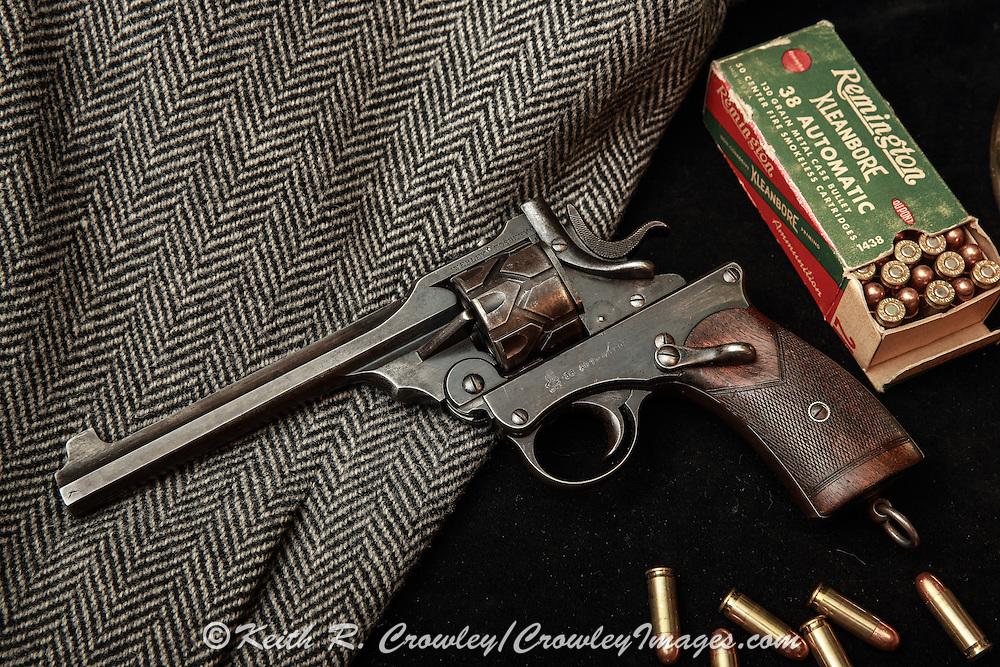 Webley Fosbery, .38 Automatic Revolver Webley Fosbery Automatic Revolver, .38 ACP