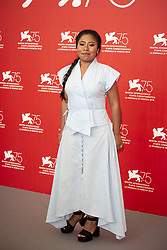 Yalitza Aparicio attends Roma photocall during the 75th Venice Film Festival at Sala Casino on August 30, 2018 in Venice, Italy. Photo by Marco Piovanotto/ABACAPRESS.COM