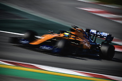 February 28, 2019 - Barcelona, Catalonia, Spain - LANDO NORRIS (GBR) from team McLaren drives in his MCL34 during day seven of the Formula One winter testing at Circuit de Catalunya (Credit Image: © Matthias OesterleZUMA Wire)