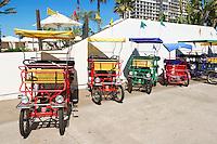Transport Cart Rides at Hotel Del Coronado, Coronado Island, California