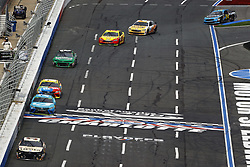 September 30, 2018 - Concord, North Carolina, United States of America - Chris Buescher (37) races during the Bank of America ROVAL 400 at Charlotte Motor Speedway in Concord, North Carolina. (Credit Image: © Chris Owens Asp Inc/ASP via ZUMA Wire)