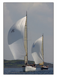Bell Lawrie Series Tarbert Loch Fyne - Yachting.The third day's inshore races, which transpired to be the last...First 47.7 GBR 4770 Moorish Idol with Gand Soliel 45,  Blue Magic, GBR49R.