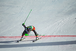 Roni Remme (CAN) during second run at the Ladies' Slalom at 56th Golden Fox event at Audi FIS Ski World Cup 2019/20, on February 16, 2020 in Podkoren, Kranjska Gora, Slovenia. Photo by Matic Ritonja / Sportida