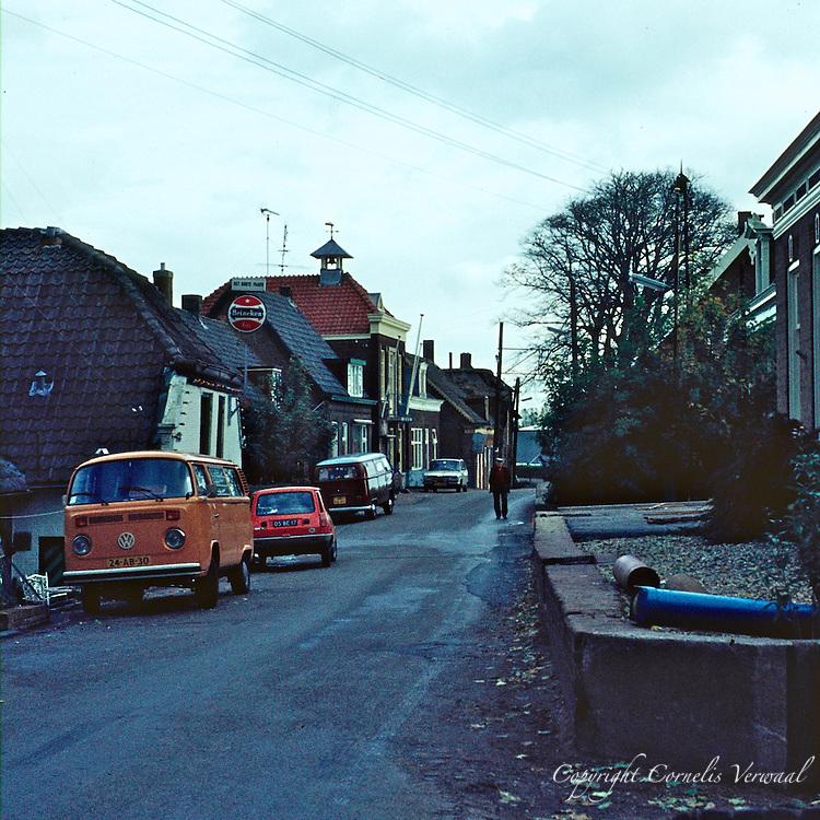 De Lekdijk in Ammerstol anno 1977
