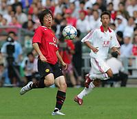 Hong Kong 23/07/05 Hong Kong XI v Manchester United (0-2) <br />PARK JI SUNG  (MANCHESTER UNITED)<br />PHOTO FOTOSPORTS INTERNATIONAL/OSPORTS