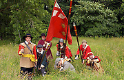FOOT REGIMENT OF THE SEALED KNOT SOCIETY IN THE ISLE OF MAN.