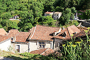 "Saint-Cirq-Lapopie is a commune in the Lot department in south-western France. It is a member of the Les Plus Beaux Villages de France (""The most beautiful villages of France"") association."