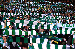 Celtic fans in the stands