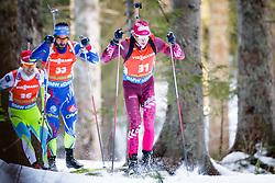 Andrejs Rastorgujevs (LAT) competes during Men 12,5 km Pursuit at day 3 of IBU Biathlon World Cup 2015/16 Pokljuka, on December 19, 2015 in Rudno polje, Pokljuka, Slovenia. Photo by Ziga Zupan / Sportida