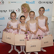 London,England,UK : 28th April 2016 : BLOCH Dance World Cup  dancers display at Kimberly Wyatt launches the 2016 annual BLOCH Dance World Cup at BLOCH, 35 Drury Lane, Covent Garden, London. Photo by See Li