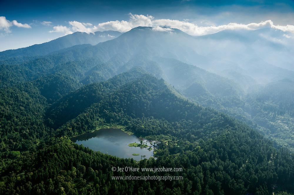 Situ Gunung, Mount Gede-Pangrango National Park, Cisaat. Sukabumi, West Java, Indonesia.