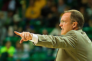 WACO, TX - JANUARY 24: Oklahoma Sooners head coach Lon Kruger looks on against the Baylor Bears on January 24, 2015 at the Ferrell Center in Waco, Texas.  (Photo by Cooper Neill/Getty Images) *** Local Caption *** Lon Kruger