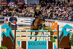 RUEDER Hans-Thorben (GER), LORCAS<br /> Neumünster - VR Classics 2020<br /> Voltaire Design Preis<br /> CSI-YH1* 1. Qualifikation zum Theurer Trucks Youngster-Cup<br /> International nach Strafpunkten & Zeit (1,35m) für 7-8-jähr.Pferde<br /> 14. Februar 2020<br /> © www.sportfotos-lafrentz.de/Stefan Lafrentz