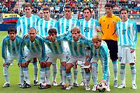Fotball <br /> FIFA World Youth Championships 2005<br /> Nederland / Holland<br /> Foto: ProShots/Digitalsport<br /> <br /> argentina - usa,  enschede, 11-06-2005<br /> <br /> teamfoto argentina
