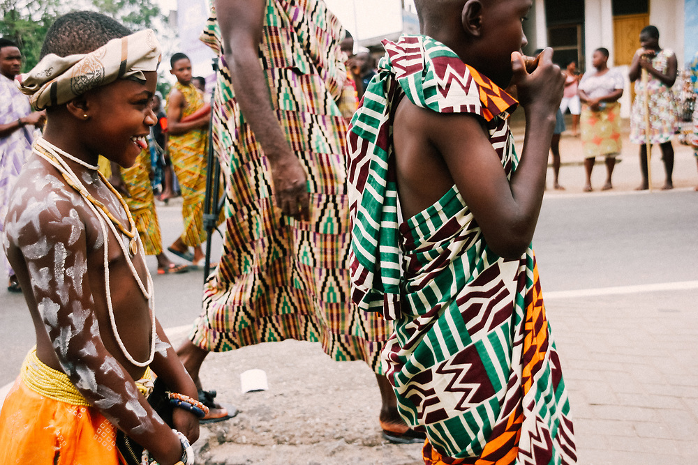 Fun at the Yam Festival by Antoinette Dumegah