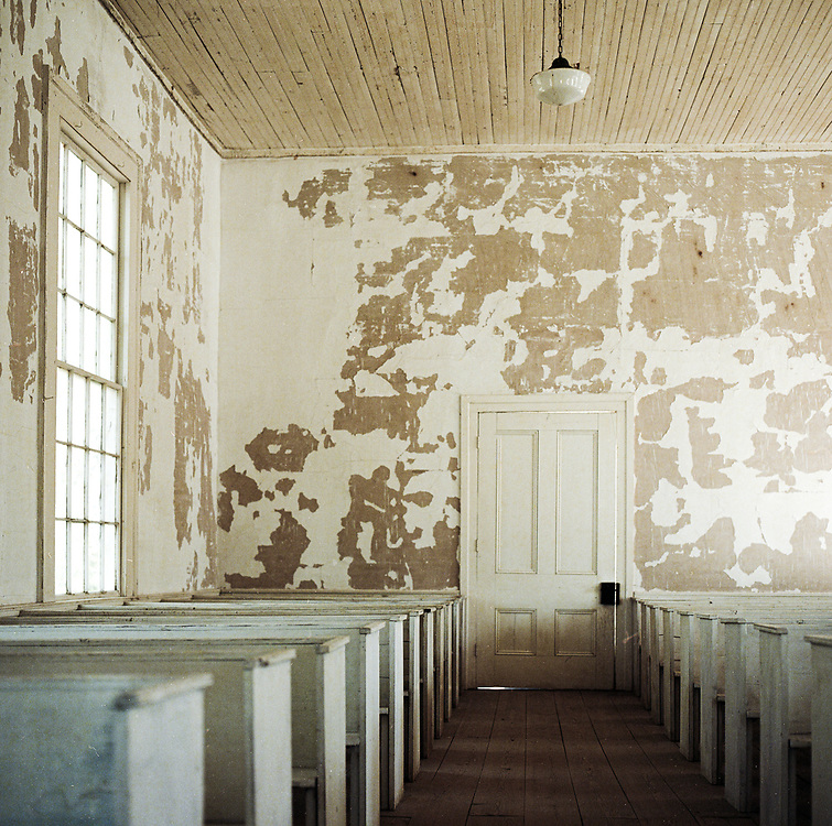 Back in 1813 there was an academy, and quite a few homes.  Today – they're all gone.  Mount Zion Church started out as a Presbyterian Church, and later served as a Methodist Church.