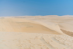 05-10-2019 QAT: Press Dune Bashing in the desert of Qatar, Mesaieed Area<br /> Driven out of town Doha to begin your amazing 4-hour desert safari. The tour will cater to people who are looking to have a thrilling experience out in the desert in the southern part of Qatar.