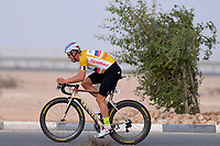 KRISTOFF Alexander (NOR) Katusha, Yellow Gold Leader Jersey, during the 14th Tour of Qatar 2015, Stage 3 Time trial, Lusail Circuit - Lusail Circuit (10,9Km), on February 10, 2015. Photo Tim de Waele / DPPI