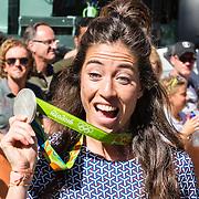 NLD/Den Haag/20160824 - Huldiging sport Rio 2016, Naomi van As
