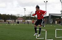Photo: Paul Thomas.<br /> Liverpool Training session. UEFA Champions League. 21/11/2006.