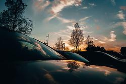 THEMENBILD - Sonnenuntergang ueber Metairie, aufgenommen am 23.12.2018, Metairie, Vereinigte Staaten von Amerika //sunset above Metairie, Metairie, United States of America on 2018/12/23. EXPA Pictures © 2018, PhotoCredit: EXPA/ Florian Schroetter