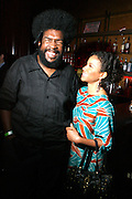Jurnee Smollett and Quest ? Love at An evening with Dave Chappelle for Kevin Powell for Congress held at Eugene's on July 9, 2008..Kevin Powell runs as a Democratic Candidate for Congress in Brooklyn's 10th Congressional District