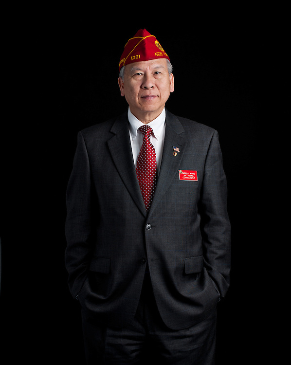 Fang Wong, former National Commander, The American Legion