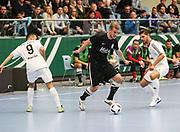 Futsal: Deutsche Meisterschaft 2016, Finale, Hamburg Panthers - FC Liria 4:2, Hamburg, 09.04.2016<br /> Michael Meyer (Panthers)<br /> © Torsten Helmke