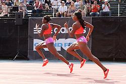 Samsung Diamond League adidas Grand Prix track & field; women's 400 meters, Christine Ohuruogu, GBR, Novlene WIlliams-Mills, JAM,