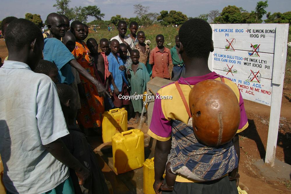 fetching water in uganda