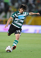 20100819: LISBON, PORTUGAL - Sporting Lisbon vs Brondby: UEFA Europa League 2010/2011 Play-Offs - First Leg. In picture: Matias Fernandez (Sporting). PHOTO: Alexandre Pona/CITYFILES