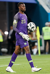 June 26, 2018 - Saint Petersburg, Russia - Francis Uzoho of Nigeria national team during the 2018 FIFA World Cup Russia group D match between Nigeria and Argentina on June 26, 2018 at Saint Petersburg Stadium in Saint Petersburg, Russia. (Credit Image: © Mike Kireev/NurPhoto via ZUMA Press)