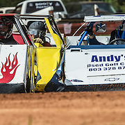 August 25, 2013 York, SC Lawnmower racing is fast and furious at the Patbottom Speedway in York, South Carolina.