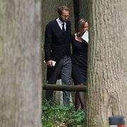 NLD/Lage Vuursche/20130816 - Uitvaart prins Friso Margaita en partner Tjalling ten Catee